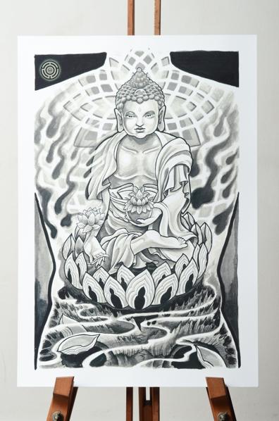 Psy Buddha Tattoo Artists