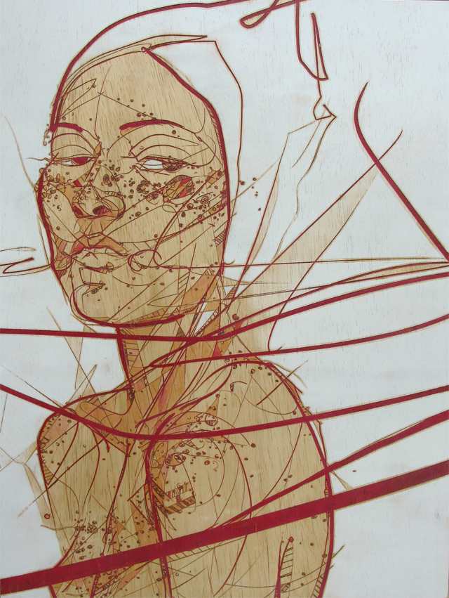 One Line Artist Statement : Rachel s heart jason thielke