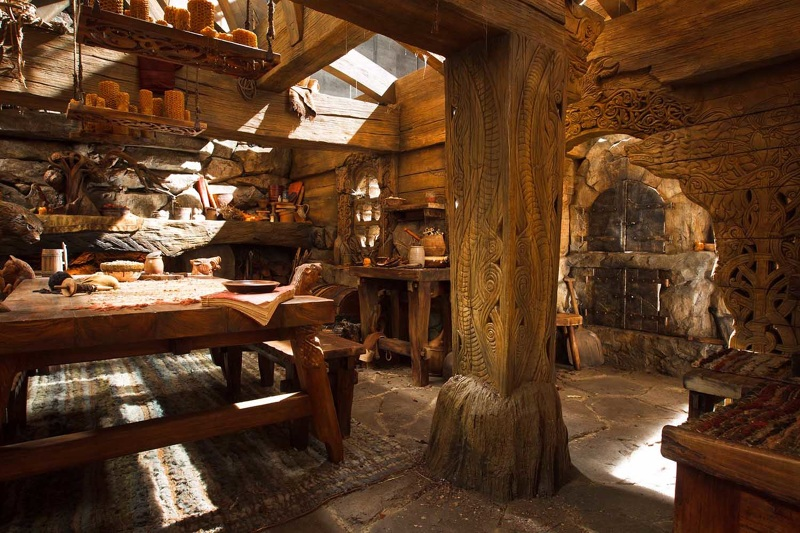 1000 images about beorn 39 s house on pinterest alan lee gandalf and the hobbit - Great hobbit home designs ...
