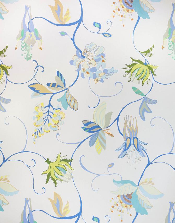 Modern Jacobean Wallpaper