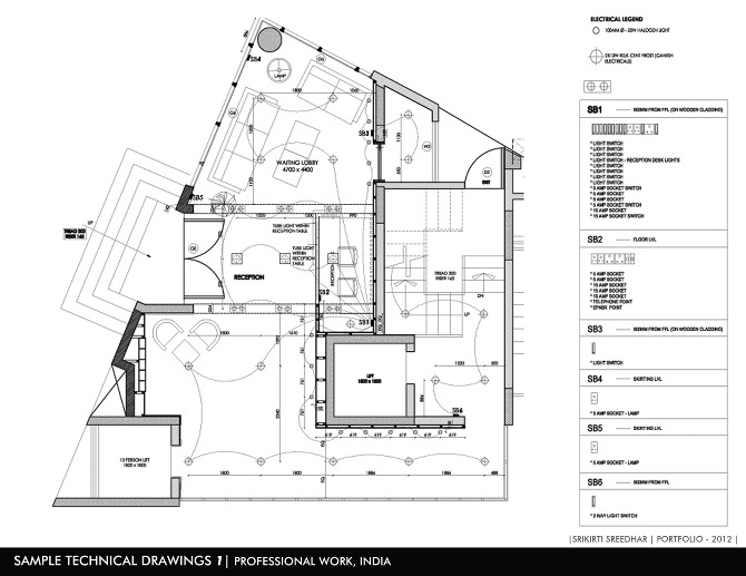 sample technical drawings 1  professional work